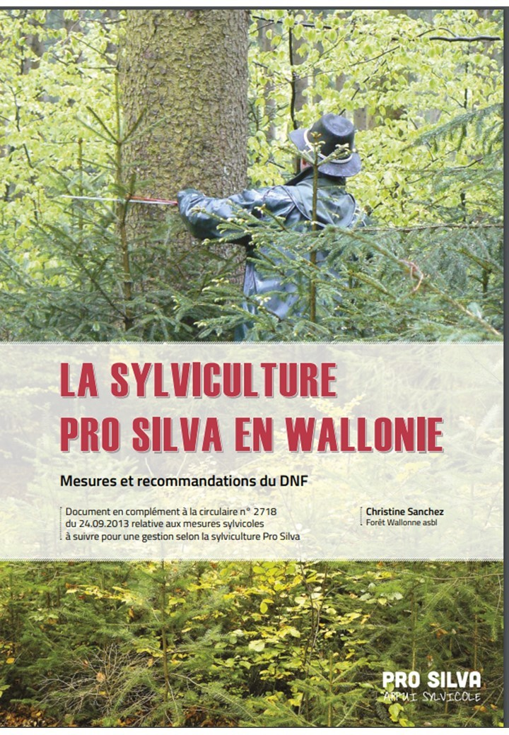Echange au sujet de la sylviculture Pro Silva au parlement de Wallonie